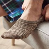 Gemütliches Baumwolltief geschnittene unsichtbare Socken