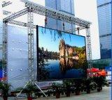 Écran de publicité extérieur imperméable à l'eau de l'usine SMD de panneau polychrome de haute qualité d'Afficheur LED grand