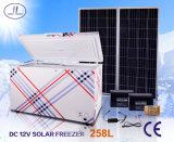 congelatore a basso rumore di CC di energia solare 258L