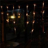 LED-Vorhang-optische Fiber-Optikzeichenkette-Licht für Feiertag/Ausgangs-/Weihnachtsdekoration