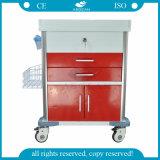 Chariot médical à soins du meilleur de l'hôpital AG-Mt026 de bruyère matériel de soin
