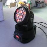Heas 세척 18PCS LED 클럽 빛을 이동하는 3W RGB