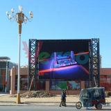옥외 광고 LED 영상 벽을%s P6 풀 컬러 발광 다이오드 표시 내각