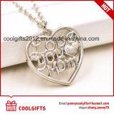De nieuwe Halsband van de Legering van de Vorm van het Hart van het Ontwerp voor de Gift van de Juwelen van de Moederdag