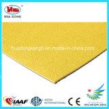 De UV Mat van de Bevloering van het Synthetische Rubber van de Weerstand, de Oppervlakte van het Hof