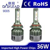 最も売れ行きの良い6000k 3600lm LEDのヘッドライト自動LEDのライト