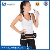 Sin BPA botella de agua del cinturón de correa corriente cintura bolsa