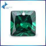 Cutemerald Green Cubic Zircon 공주 원석 드릴 구멍