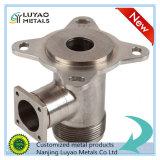 Peça fazendo à máquina da precisão do aço inoxidável para a válvula