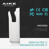 Essiccatore ad alta velocità automatico industriale della mano del getto dell'ABS veloce elettrico dell'asciugatrice di AK2006H