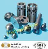 Peça da válvula de regulador de pressão do bloqueador do carboneto de tungstênio para a indústria da fonte do petróleo
