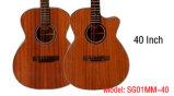 Дюйм Om тавра 40 Aiersi вводит акустическую гитару в моду