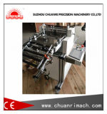 Automatic Sheet Cutting Machine with Displacement Sensor Sample Collection