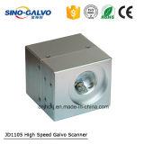 Scanner ad alta velocità di Galvo del laser Jd1105 con la prestazione eccellente della marcatura