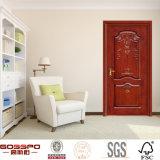 Bois intérieur de chêne malaisien de maison de rapport/portes d'oscillation en bois (GSP2-070)