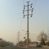 torre del tubo de acero 10kv