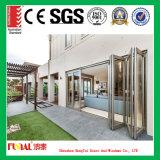 Portello di piegatura di alluminio del balcone di lusso