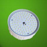 E27or B22 marco de aluminio dentro de iluminación de bombilla LED