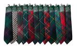 Relation étroite écossaise du Tartan 100%Silk de clan (A787)
