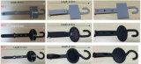 Perchas durables del accesorio de la correa de la marca de fábrica del material plástico