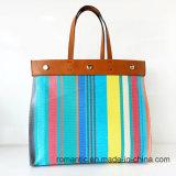 De buitensporige Kleurrijke Elegante Handtassen van Dame PU Leer (nmdk-032206)