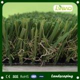 Césped artificial de la venta de la decoración al aire libre durable caliente de Jiangsu