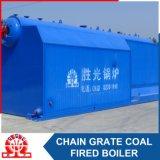 De grote Boiler van het Hete Water van de Trommel Met kolen gestookte