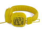 Écouteurs faits sur commande de musique MP3 de prix usine de mode de marque