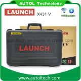 Macchina diagnostica dell'automobile originale del lancio X431 V per tutto l'aggiornamento in linea di sostegno WiFi/Bluetooth delle automobili