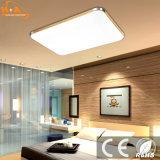 Plaza de ahorro de energía de luz LED de la lámpara de techo con control remoto