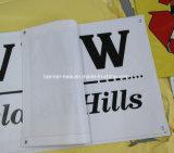 Impresión de encargo al aire libre que hace publicidad de la bandera del PVC del vinilo (SS-VB97)