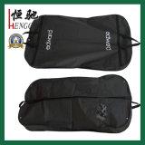 강한 벨트 손잡이를 가진 방진 여행용 양복 커버 투명한 PE 한 벌 덮개