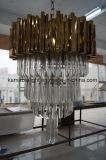 Iluminação especial do pendente do hotel do candelabro do projeto (KAP6040)