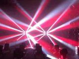 3PCS LED bewegliches Kopf-Träger-Licht