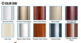 Guichet neuf d'alliage d'aluminium de type