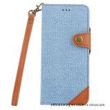 Отделяемое магнитное аргументы за Samsung S8 мобильного телефона джинсыов 2in1