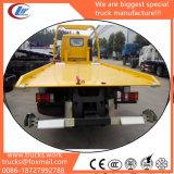 Dongfeng 4X2 0개 도 평상형 트레일러 구조차 견인 트럭