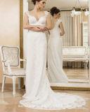Schutzkappe Sleeves Brautkleid-Spitze-Hüllen-Hochzeits-Kleid Y1647