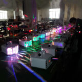 2x10W mariposa doble LED Navidad luces del escenario