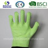 Handschoen van het Werk van de Veiligheid van de besnoeiing de Bestand met de pvc Met een laag bedekte Handschoenen van de Veiligheid van Handschoenen