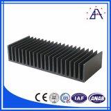 Aleación de aluminio 6063 venta al por mayor del disipador de calor para el Amplificador de Potencia