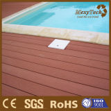 Menos compuesto plástico de madera al aire libre del suelo WPC del Decking del mantenimiento