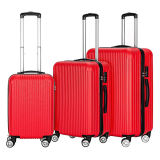 Conjunto de 3 piezas ampliable ABS carro de equipaje con cierre TSA y 4 Ruedas