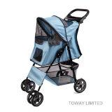 Quality 4 Wheels Pet Cart Trolley Dog Home Poussettes