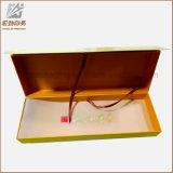 Rectángulo de empaquetado modificado para requisitos particulares del regalo de papel rígido barato