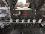 Máquina de rellenar tecleada de alta velocidad automática del taladro del polvo de la proteína