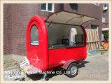 Automobile mobile dell'alimento del camion rosso dell'alimento Ys-Fv300-6 da vendere