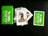Cartões de jogo pretos do papel de Nwtf/cartões jogo do póquer com 4 cores diferentes