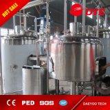 schlüsselfertiges System der Brauerei-500L mit Dampf-Heizungs-Funktion