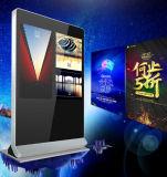 43 - de Dubbele Schermen die van de Duim Speler, LCD Digitale Signage van de Digitale Vertoning van het Comité adverteren